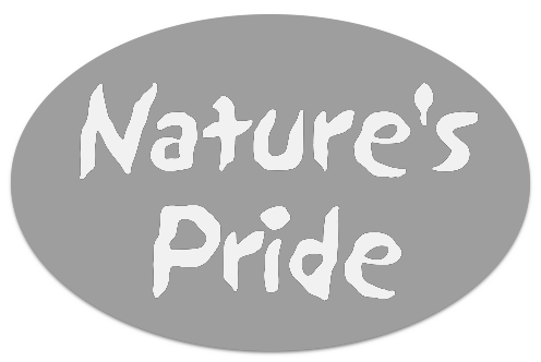 grey Nature's Pride logo