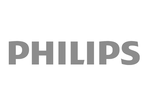 grey Philips logo
