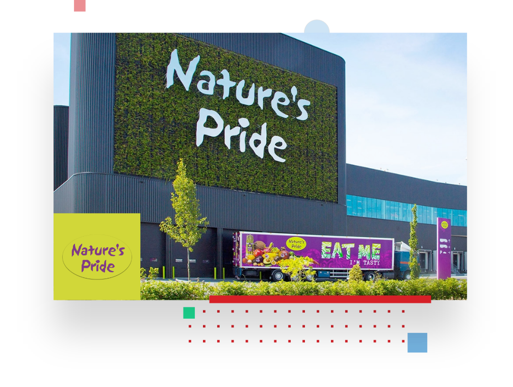 picture of nature's pride store, telling about the success story