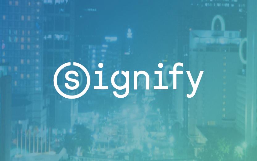 overzicht van de Jop posting met Signify over best presterende mediakanalen