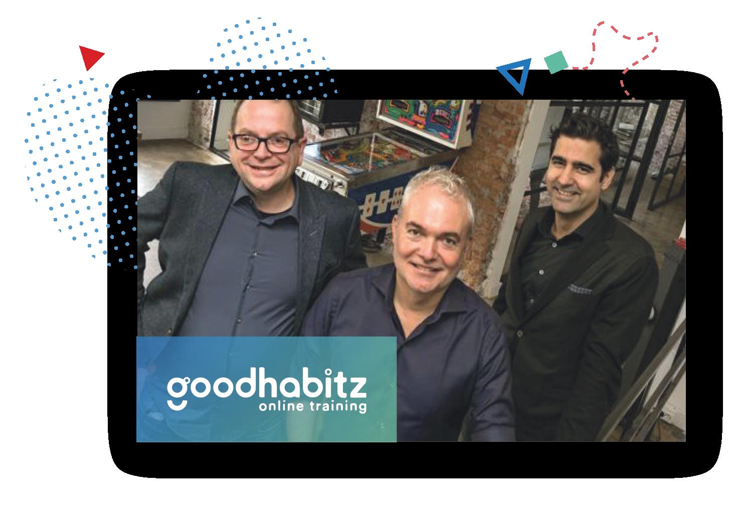three goodhabitz employees